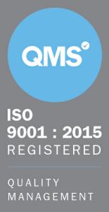 ISO 9001 : 2015 QMS logo